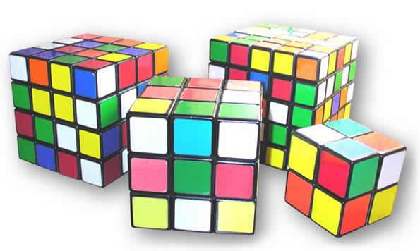 Variaciones del cubo de Rubik