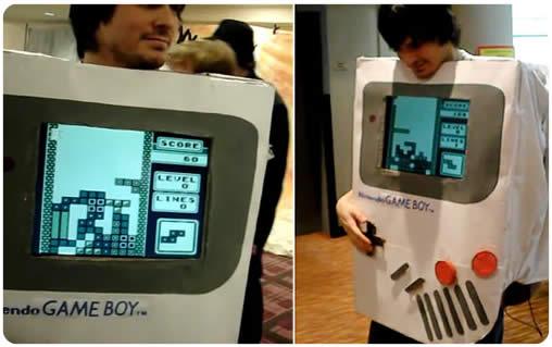 Disfraz de Game Boy