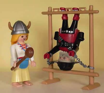 tortura vikinga