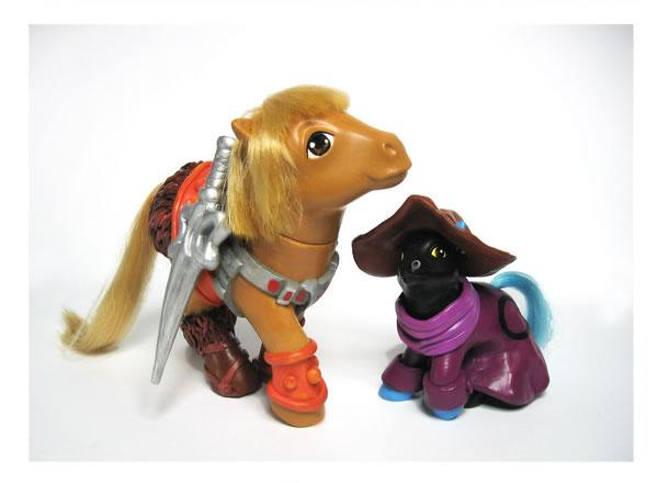 Pequeño Pony Heman y Orko