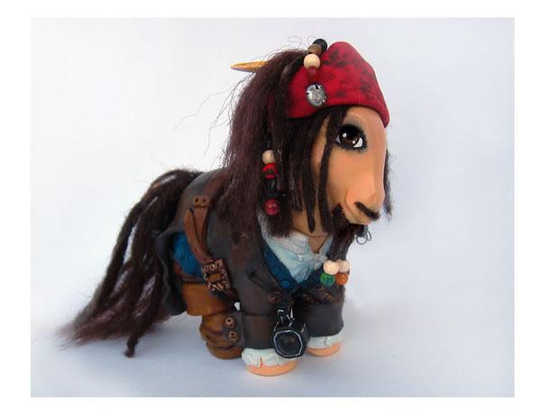 Pequeño Pony Jack Sparrow