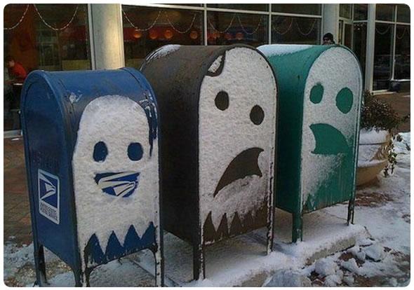 Buzones de Pac-Man