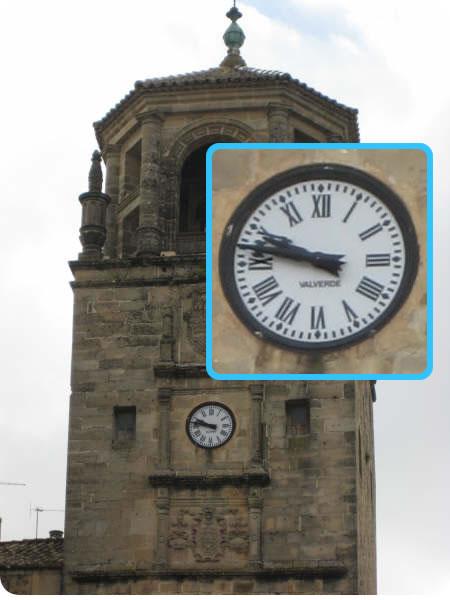 Reloj de la plaza de Úbeda