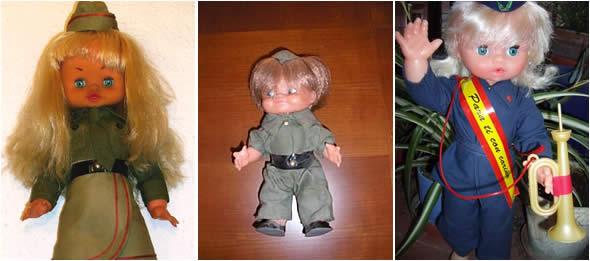 Muñecas de la mili