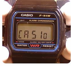 Casio f-91w