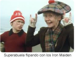 La Superabuela heavy metal